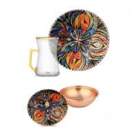 Декоративный-6-pcs-Copper-Tea-Set-erb-c085