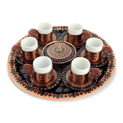 Decoratief-6-delig-koperen-koffieset-ERB-TK022