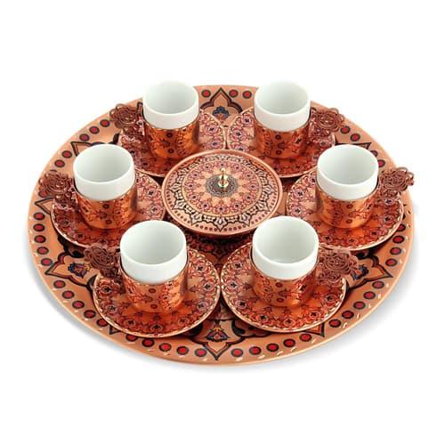 Decoratief-6-delig-koperen-koffieset-ERB-TK03