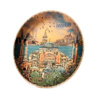 Decorative-Istanbul-copper-plate-erb-tb11