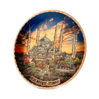 Decorative-Istanbul-sultanahmet-copper-plate-erb-tb07