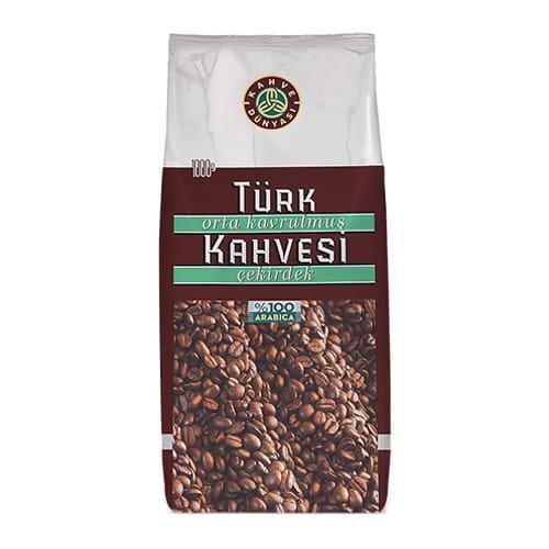 kahve-dunyasi-средне-обжаренный-турецкий-кофе-1 кг (35.2 унции)