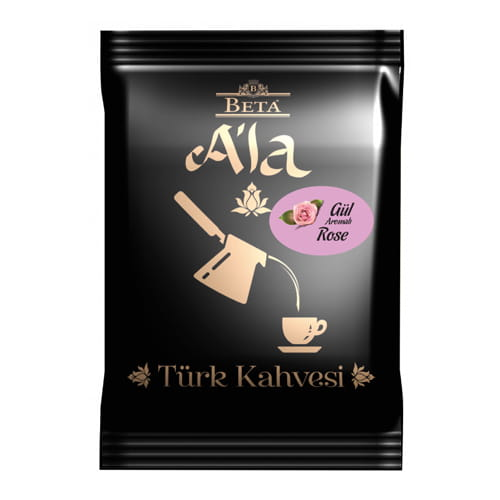 터키 식 커피-장미 풍미, -100-gr