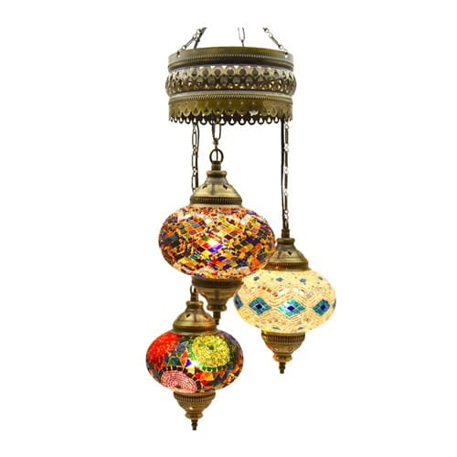 Demmex-Authentic-Ceiling-Pendant-Chandelier-Mosaic-Decor-Lamp