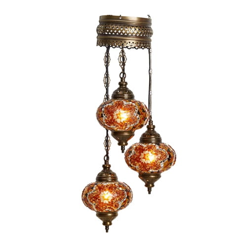 Demmex-Authentic-Ceiling-Pendant-Chandelier-Mosaic-Lamp-Night-Light-Decor-Lamp