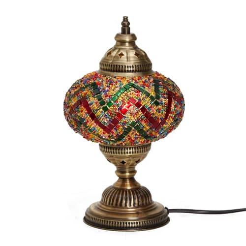 Lámpara Demmex-Escritorio-Mosaico-Mesa-Trabajo-Pantalla-Luz-Noche-Decoración-Lámpara