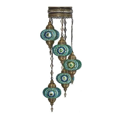 Demmex-mosaic-lamp-authentic-pendant-chandelier-colorful-pendant-chandelier-spiral-pendant-lamp
