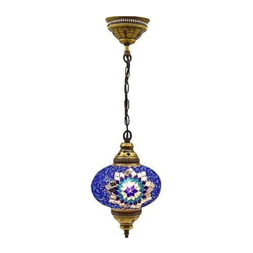 Large-authentic-ceiling-pendant-chandelier-mosaic-lamp-night-light
