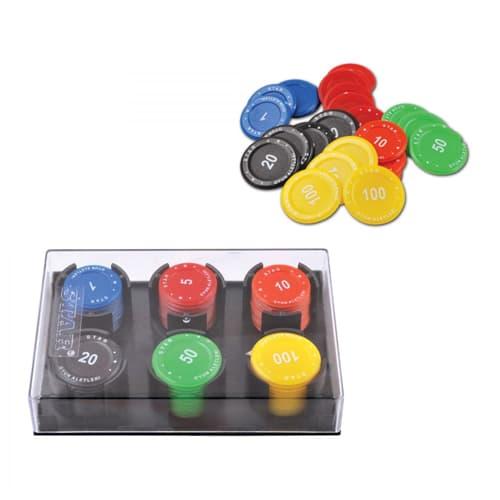 Poker-plug-(flat-with-bumper)-XNUMX-pcs