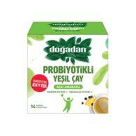 dogadan Gréng-Téi-mat-probiotik-14-Téi-Täsch-23.8-G- (0,83-Oz)