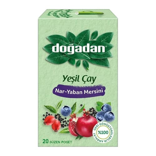 Dogadan-green-tea-with-pomegranate-and-blueberry-20-tea-bags