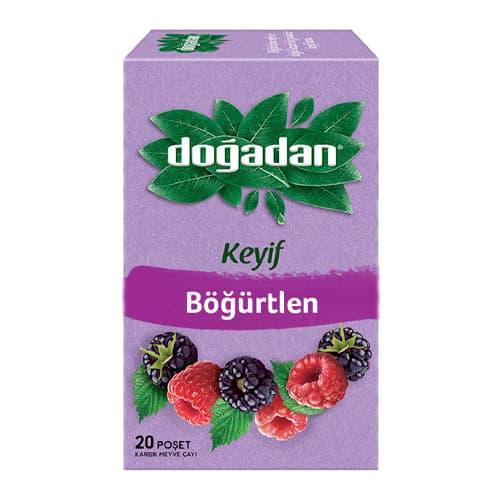 Dogadan herbal tea with blackberries 20 tea bags 38g(1. 34oz)
