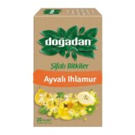 dogadan-herbal tea with quince and lime-20-tea-bags-(1.12oz)
