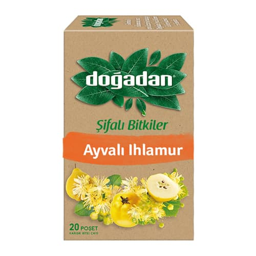 Dogadan-herbal tea with quince and lime-20-tea-bags-(1. 12oz)