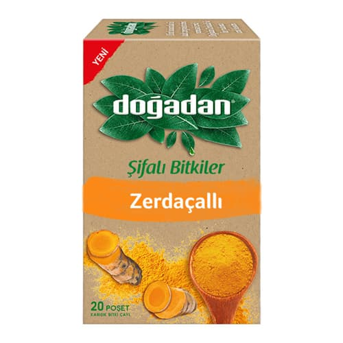 Dogadan-herbal-tea-with-turmeric-20 tea bags 26g-(0. 91oz)