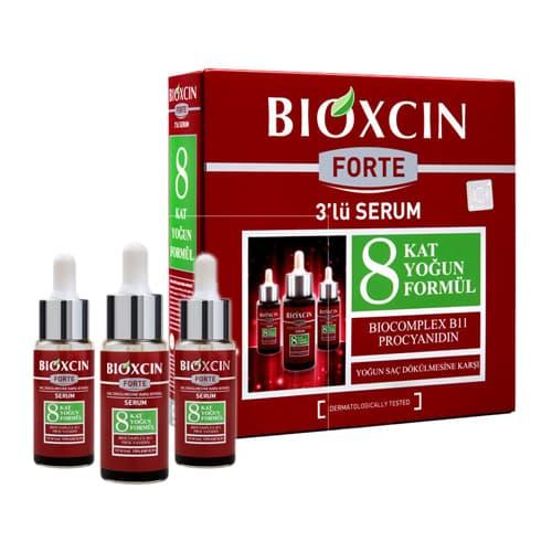 سيروم مضاد لتساقط الشعر بيوكسين فورتي -30 مل- (1,01،3 أونصة) -XNUMX أمبولات
