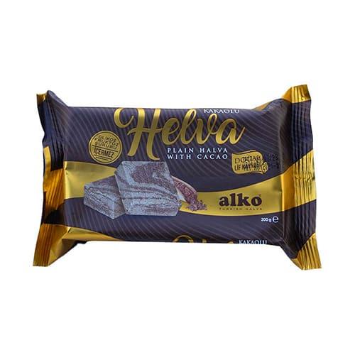 Cacao-flavored-tahini-halva-,-200g---7. 1oz