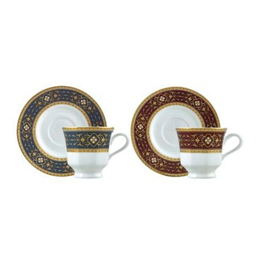 Classic-coffee-cup-set,-6-pieces