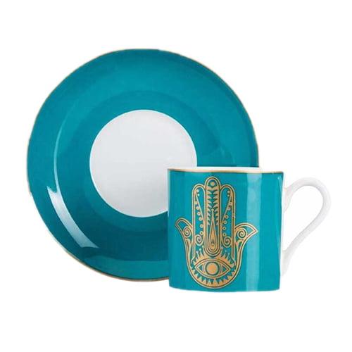 Fatima-bonechina-cup-set,-2-pieces--blue