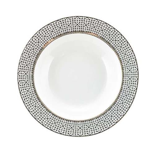 Link-porcelain-deep-plate