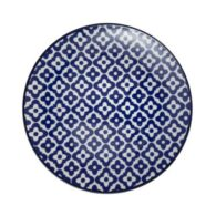 Madame-Coco-Reve-Bleu-Venteux-Dessert-Plate---Blue