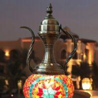 Mosaic Ewer Lamps