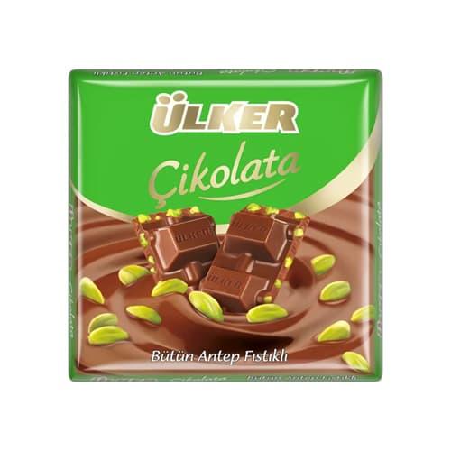 Ulker-milk-chocolate-bar-with-pistachio,-65g-–-2. 27oz
