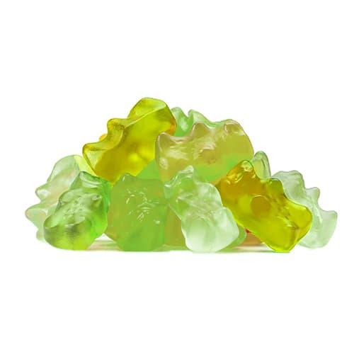 Apple jelly bear 500g(17,63oz)