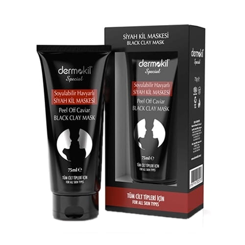 Dermokil-peel-off-caviar-&-black-clay-mask,-75-ml-2. 53floz