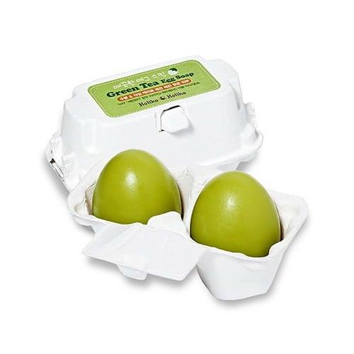 Holika-holika-smooth-egg-green-tea---green-tea-egg-facial-soap-2-pieces