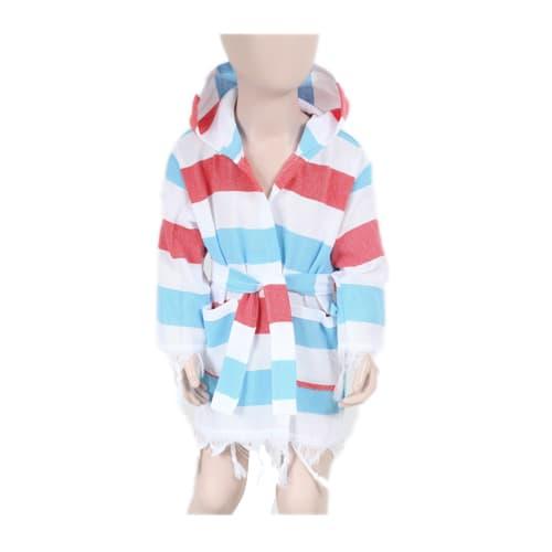 Loincloth-baby-bathrobe-rainbow-blue-red