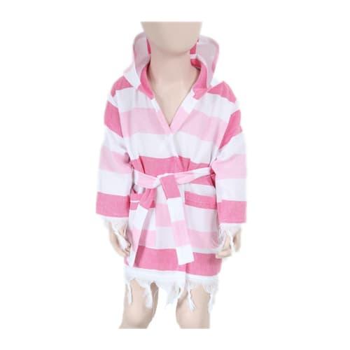 Loincloth-baby-bathrobe-rainbow-pink-white