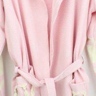 Loincloth-bathrobe-hooded-diamond-striped-light-pink2