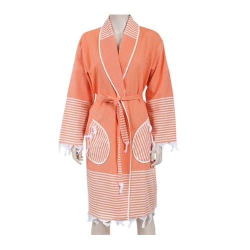 Loincloth-bathrobe-kimono-collar-rota-oranj