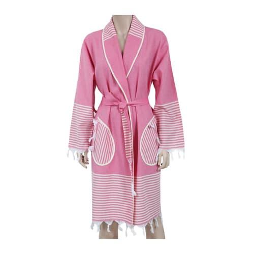 Loincloth-bathrobe-kimono-collar-route-fuchsia