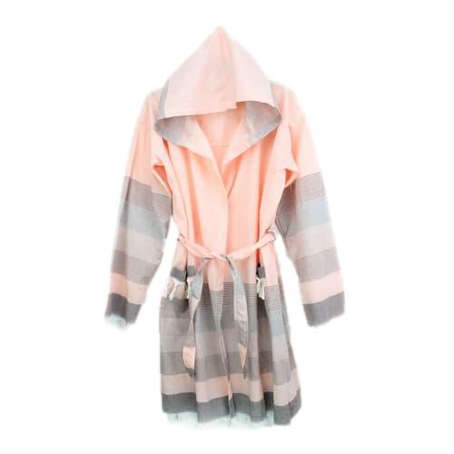 Loincloth-bathrobe-stripe-gray-baby-style