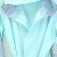 Loincloth-bathrobe-stripe-mint-green-brown 2