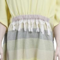 Loincloth-dress-hooded-stripe-lemon-yellow2