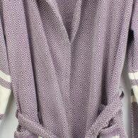 Loincloth-robe-hooded-diamond-striped-purple2