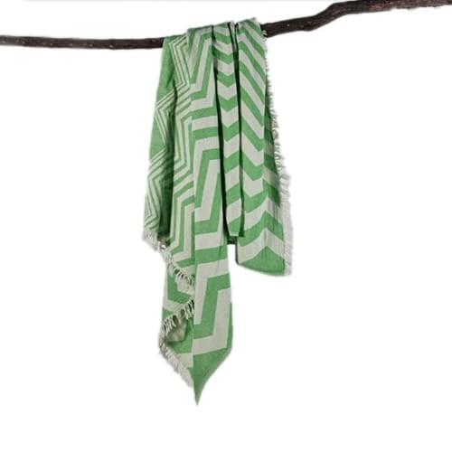 Zigzag-loincloth-green