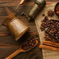 Turkish Copper Coffee Pot
